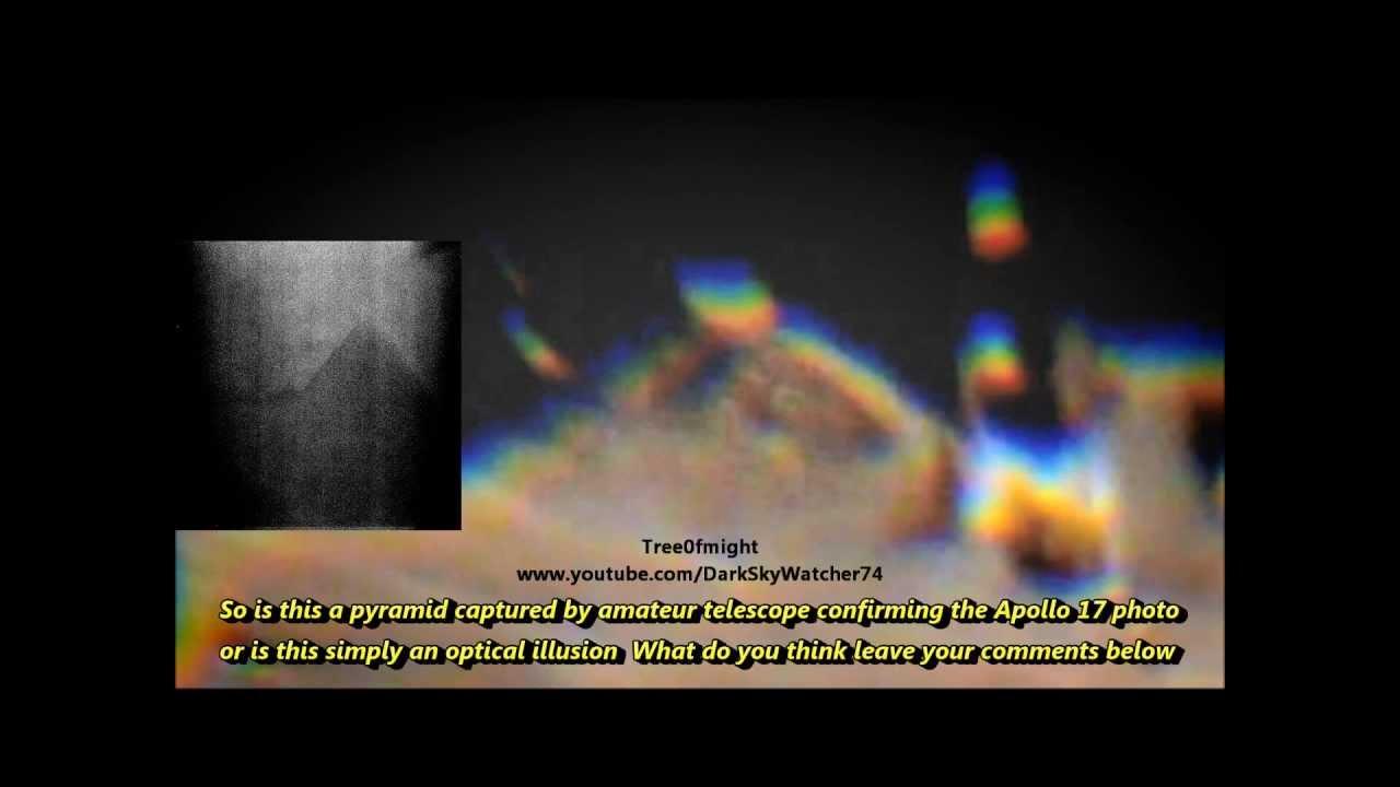 Amateur Telescope See's Moon Pyramid (Apollo 17 Pyramid Photo Included)  05-28-2013) | SecretsFiles.com