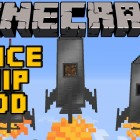 Chazofftopic – Minecraft Mods – SPACESHIP MOD! FLY TO THE MOON! [1.4.7]