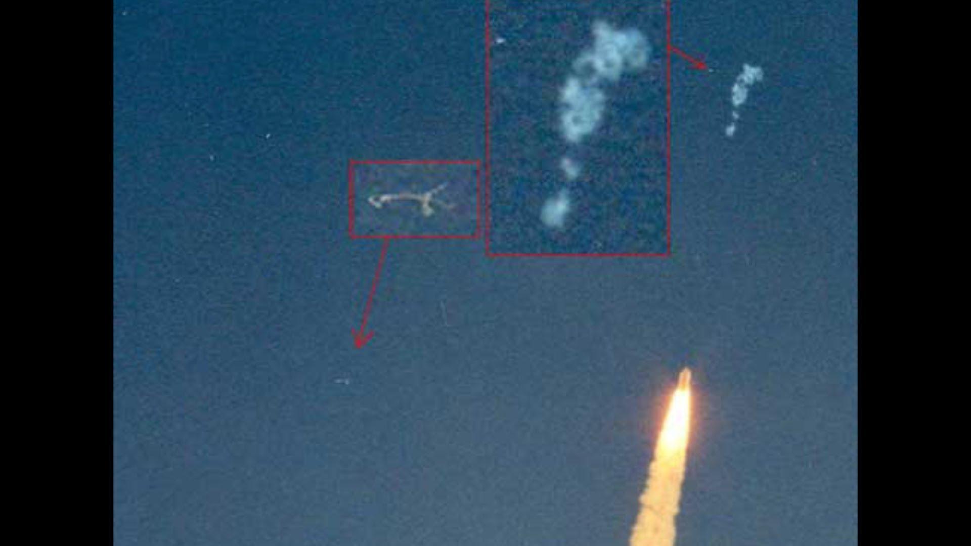 UFO Sightings Strange UFOs Surround Space Shuttle Launch ...