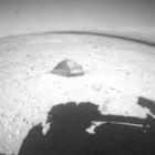 Curiosity: Pyramid Shaped Rock and Martian Moon Phobos | 09/20/2012 | NASA MSL Rover HD Video