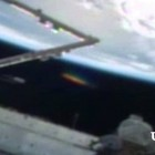 USTREAM LIVE UFO Large Alien Spacecraft Near The ISS, April 7, 2013 HD 1080p