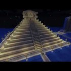 Minecraft Builds:  #1:  House, Fountain, and Mayan Pyramid