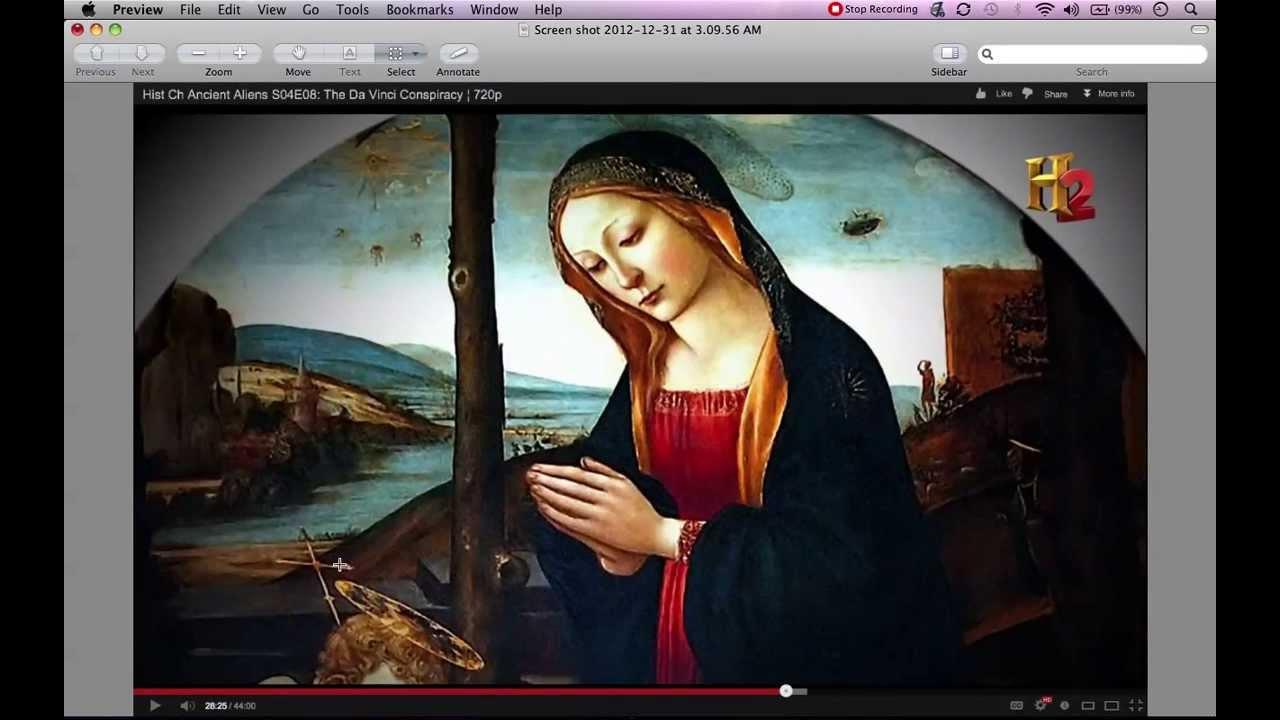 The gallery for --> Leonardo Da Vinci Paintings Secrets Aliens