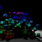 Pyramid destruction Bullet Physics tutorial in Maya.