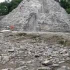 Maya pyramid at Coba, Mexico