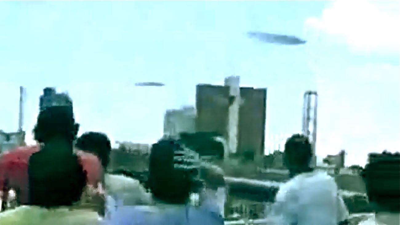 UFO Best Sighting caught on Tape 2014