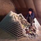 Biggest domino pyramid ever… almost