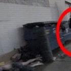 Dark Angel Caught on Camera: Weird Ghost or Supernatural Entity?