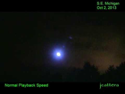 UFO Orb Sighting – Oct 2, 2013