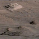 Mars Rover Images of the Central Pyramid on Mt Sharp