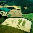 Weird Crop Circles by Levitated Objects The History Channel Documentary