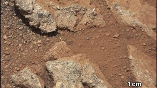 Proof of Water once Flowed on Planet Mars! NASA Mars Rover Curiosity takes images!