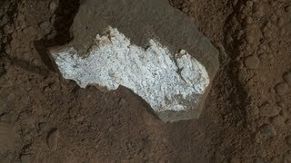 High Definition Rock Sample from Nasa Mars Rover Curiosity | Early Rock Sample Images