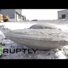 Excavators Found Flying Saucer Shaped Object Deep In Siberia